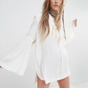 Free People 'Easy Girl' Bell Sleeve Top